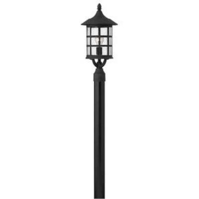 Hinkley Lighting 1801BK-GU24 Freeport - One Light Large Post