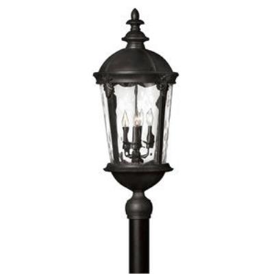 Hinkley Lighting 1891BK Windsor - Four Light Post