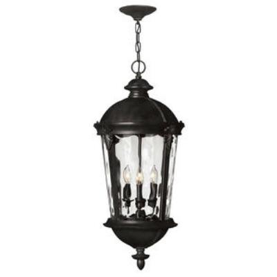 Hinkley Lighting 1892BK Windsor - Four Light Outdoor Hanging Lantern