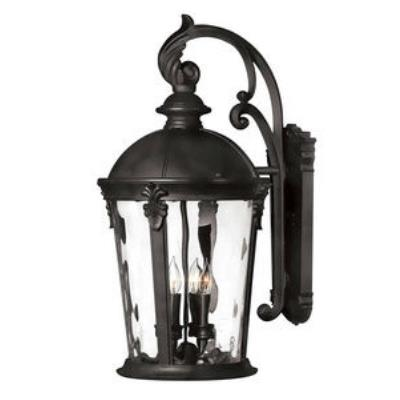 Hinkley Lighting 1899BK-LED Windsor - LED Large Outdoor Wall Mount