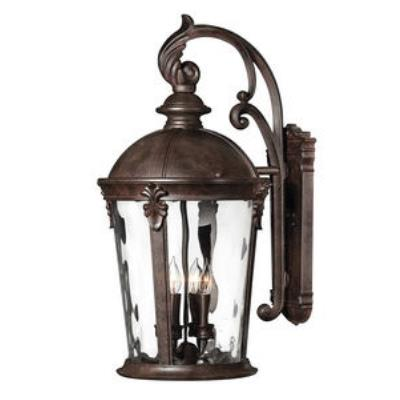 Hinkley Lighting 1899RK-LED Windsor - LED Large Outdoor Wall Mount