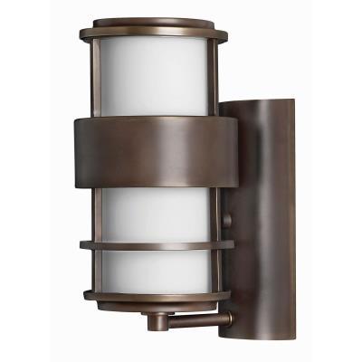 "Hinkley Lighting 1900MT Saturn - 12"" 15W 1 LED Outdoor Wall Mount"