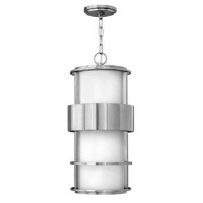 Hinkley Lighting 1902SS-GU24 Saturn - One Light Outdoor Hanging Lantern