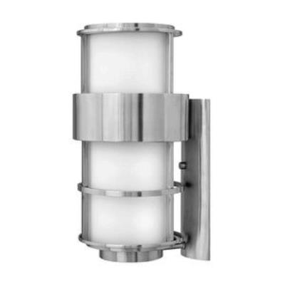 Hinkley Lighting 1905SS-GU24 Saturn - One Light Large Outdoor Wall Mount
