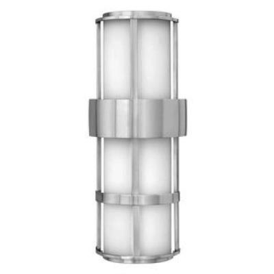 Hinkley Lighting 1909SS-GU24 Saturn - One Light Tall Outdoor Pocket Lantern