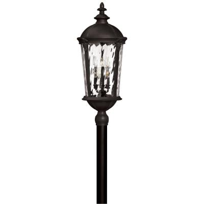 Hinkley Lighting 1921BK Windsor - Six Light X-Large Post