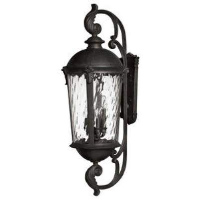Hinkley Lighting 1929BK Windsor - Six Light X-Large Outdoor Wall Mount
