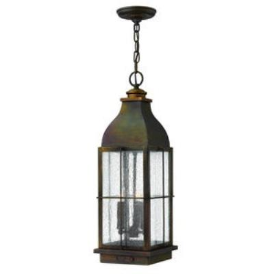 Hinkley Lighting 2042SN Bingham - Three Light Outdoor Hanging Lantern