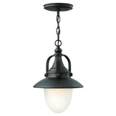 Hinkley Lighting 2082SB-LED Pembrook - One Light Outdoor Hanging Lantern
