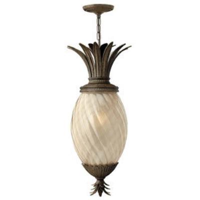 Hinkley Lighting 2122PZ-GU24 Plantation - One Light Outdoor Hanging Lantern