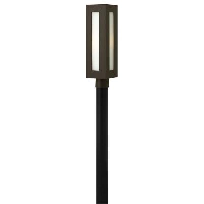 "Hinkley Lighting 2191BZ Dorian - 20.8"" 1 Outdoor Post Mount (optional LED)"