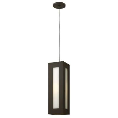 "Hinkley Lighting 2192BZ Dorian - 18.3"" 15W 1 Outdoor Pendant"