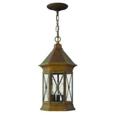 Hinkley Lighting 2292SN Brighton - Three Light Outdoor Hanging Lantern