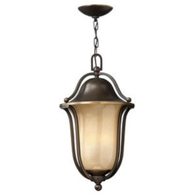 Hinkley Lighting 2632OB-GU24 Bolla - One Light Outdoor Hanging Lantern