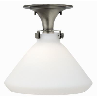 """Hinkley Lighting 3141CM Congress - 11.75"""" 15W 1 LED Semi-Flush Mount"""