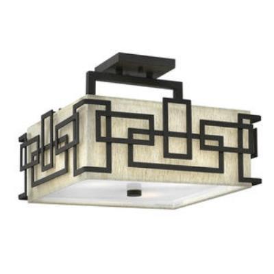 Hinkley Lighting 3161OZ Lanza - Three Light Semi-Flush Mount
