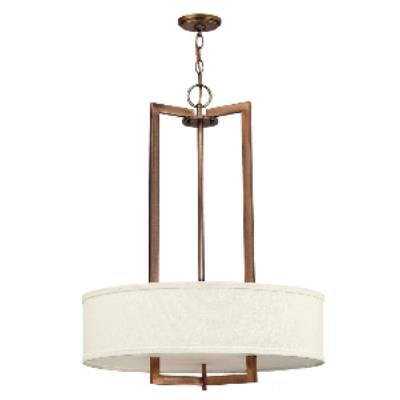 Hinkley Lighting 3204BR-LED Hampton - LED Chandelier