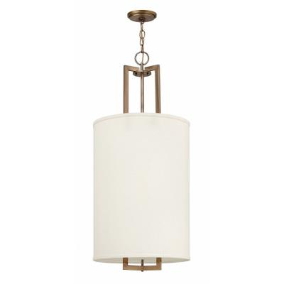 Hinkley Lighting 3205BR Hampton Three Light Pendant