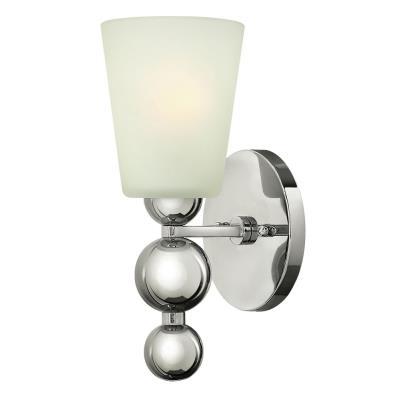Hinkley Lighting 3440PN Zelda - One Light Wall Sconce