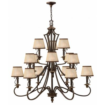 Hinkley Lighting 4249OB Plymouth Collection Mini-Chandelier