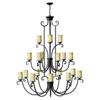 Hinkley Lighting 4309OL Casa Eighteen Light Chandelier