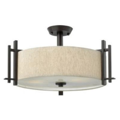Hinkley Lighting 4543RB LG SEMI FLUSH FOYER