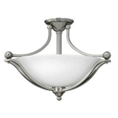 Hinkley Lighting 4669BN 3LT SEMI FLUSH FOYER