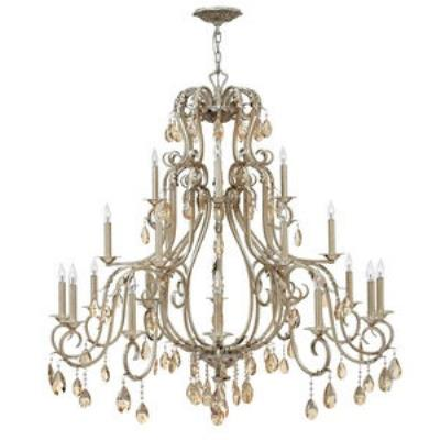 Hinkley Lighting 4779SL Carlton - Twenty-One Light 3-Tier Chandelier