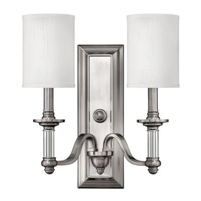 Hinkley Lighting 4792BN Sussex Two Light Wall Sconce