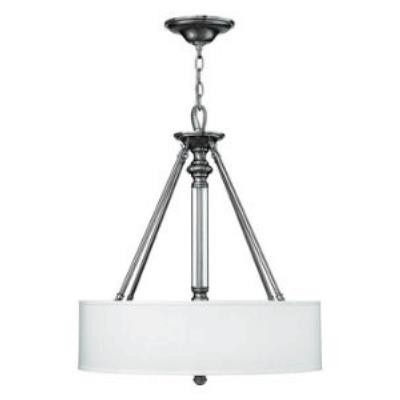 Hinkley Lighting 4794BN Sussex Three Light Ceiling Fixture