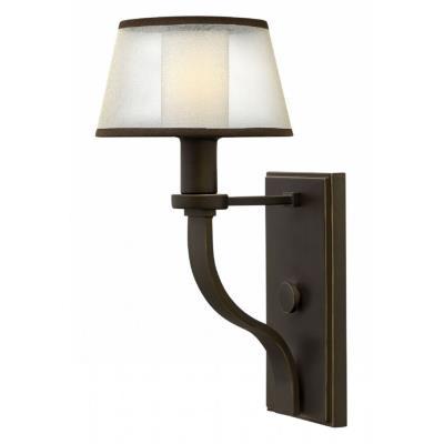 Hinkley Lighting 4960OB Prescott - One Light Wall Sconce
