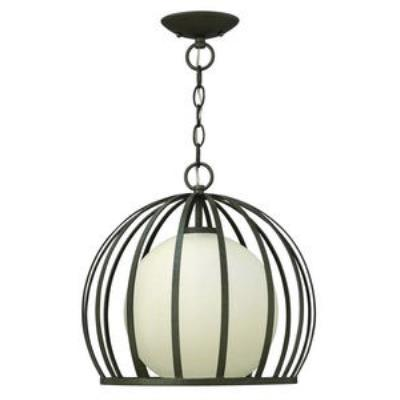 Hinkley Lighting FR32903BKS Reneta - One Light Small Pendant
