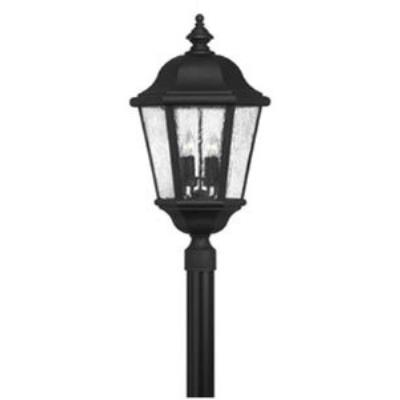 Hinkley Lighting 1677BK Edgewater Cast Outdoor Lantern Fixture