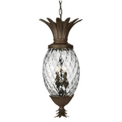 Hinkley Lighting 2222CB Plantation Cast Outdoor Lantern Fixture