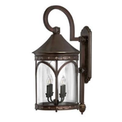 Hinkley Lighting 2315CB Lucerne Brass Outdoor Lantern Fixture