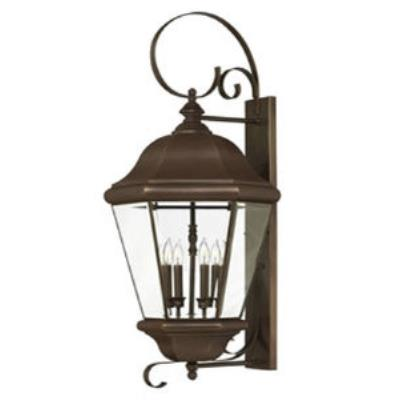 Hinkley Lighting 2406CB Clifton Park Brass Outdoor Lantern Fixture