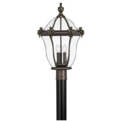 Hinkley Lighting 2441CB San Clemente Brass Outdoor Lantern Fixture