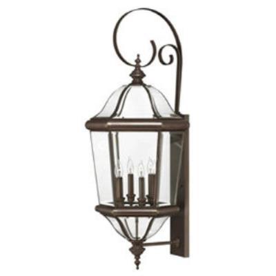 Hinkley Lighting 2456CB Augusta Brass Outdoor Lantern Fixture