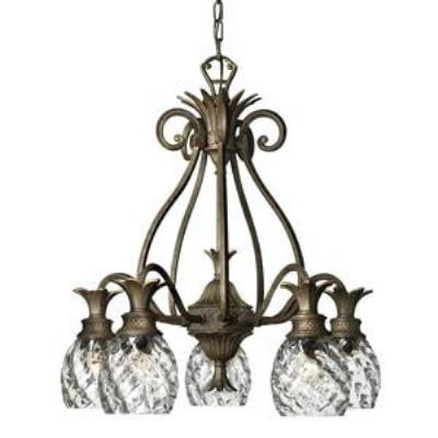 Hinkley Lighting 4885PZ Plantation Chandelier