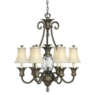 Hinkley Lighting 4886PZ Plantation Chandelier