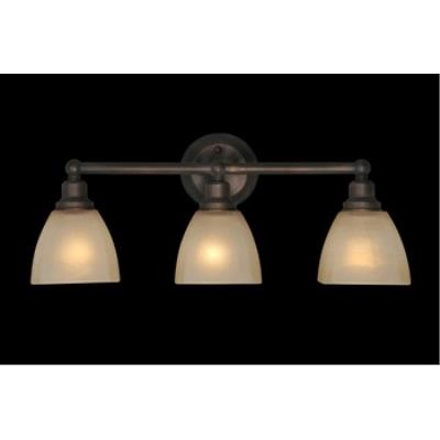 Jeremiah Lighting 26603-BZ Bradley - Three Light Bath Vanity