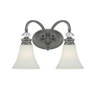 Jeremiah Lighting 26702-MB Boulevard - Two Light Wall Sconce