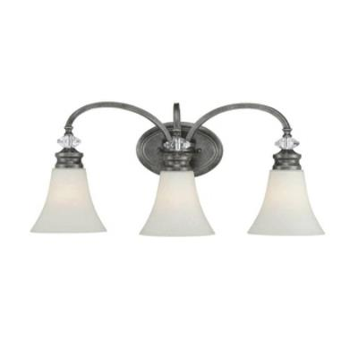 Jeremiah Lighting 26703-MB Boulevard - Three Light Bath Vanity