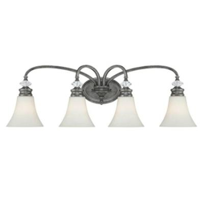 Jeremiah Lighting 26704-MB Boulevard - Four Light Bath Vanity