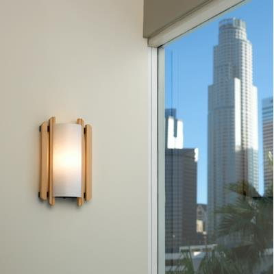 Justice Design DOM-8309 Trommel Wall Sconce ADA