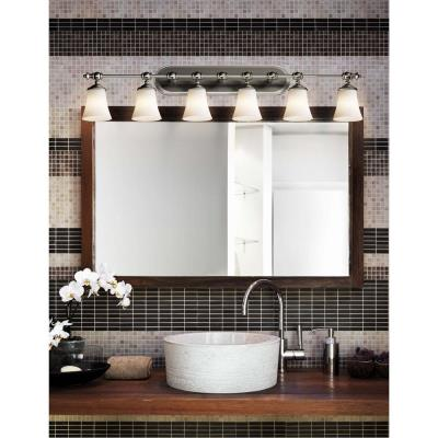 Justice Design FSN-8526 Tradition 6-Light Bath Bar