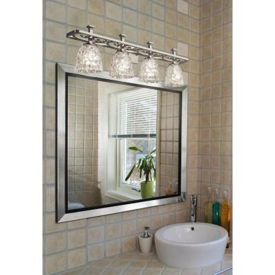 Justice Design GLA-8564 Arcadia Four Light Bath Bar