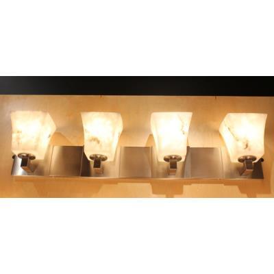 "Justice Design FAL-8924 LumenAria - 35.25"" Four Light Bath Bar"