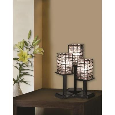 Justice Design WGL-8697 Montana 3-Light Table Lamp