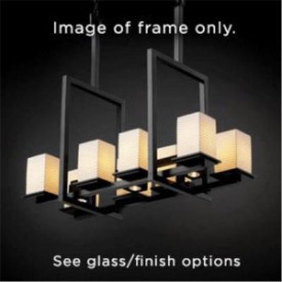 Justice Design ALR-8618 Alabaster Rocks - Eleven Light Montana Chandelier